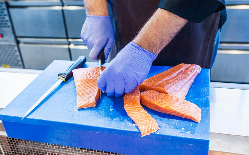 Manipulación del pescado